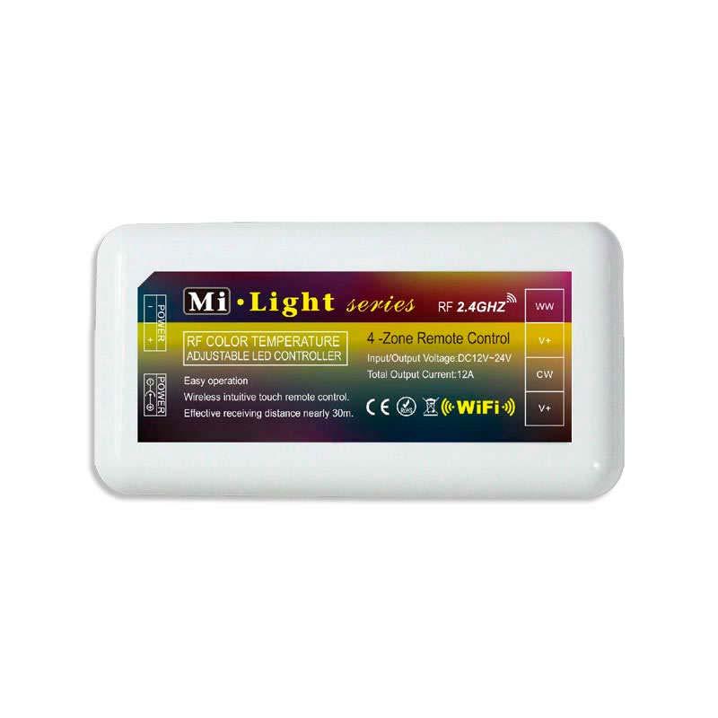Controlador monocolor DUAL RF 4 zonas